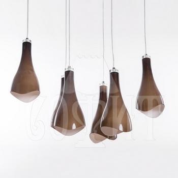Светильник потолочный Модерн 601/6A brown