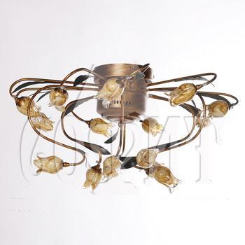 Люстры потолочные Флористика 612CL15B