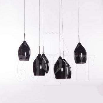 Светильник потолочный Модерн 630/6A черный