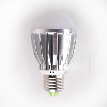 Лампочки Светодиодные лампы E27-GLOBAL-5W-SMD (WW)