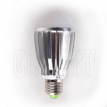 Лампочки Светодиодные лампы E27-GLOBAL-9W-SMD (WW)