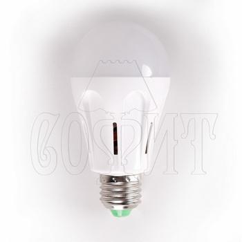 Лампочки Светодиодные лампы E27-GLOBAL-9W-P (WW)