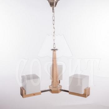 Люстры подвесные Деревянные MD1001-3