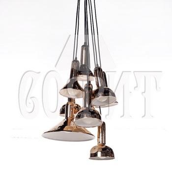 Светильник потолочный Модерн MD8053-10 gold