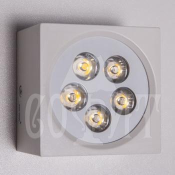 Светильники точечные Встраевамые S1080/5W-WH (WW)