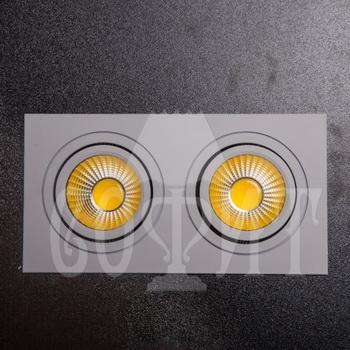Светильники точечные Встраевамые S10-20W-COB (WW)