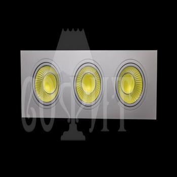 Светильники точечные Встраевамые S10-30W-COB (WH)