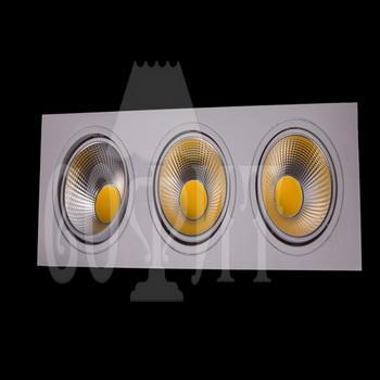 Светильники точечные Встраевамые S10-30W-COB (WW)