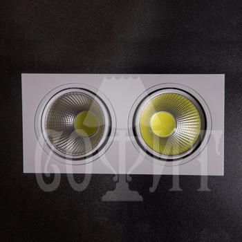 Светильники точечные Встраевамые S15-30W-COB (WH)