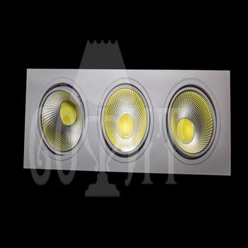 Светильники точечные Встраевамые S15-45W-COB (WW)