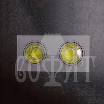Светильники точечные Встраевамые S5-10W-COB (WH)