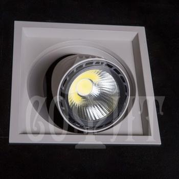 Светильники точечные Встраевамые S641/20W (WH)